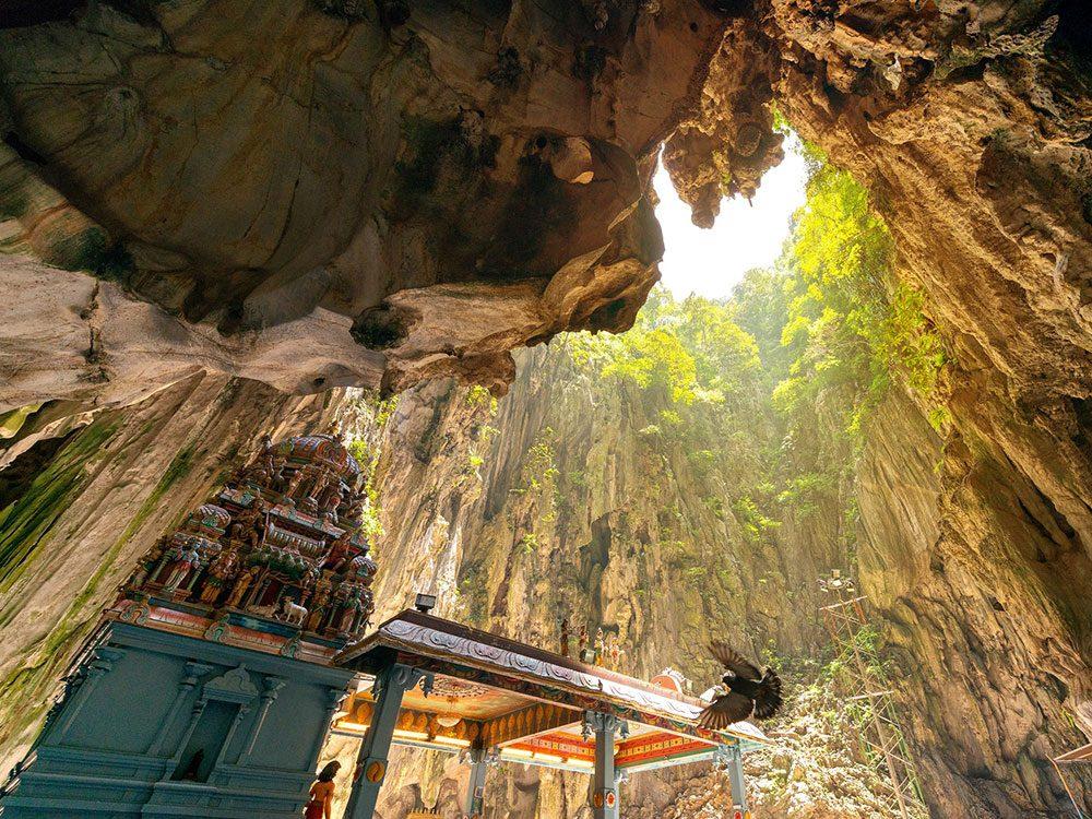 Les grottes de Batu.