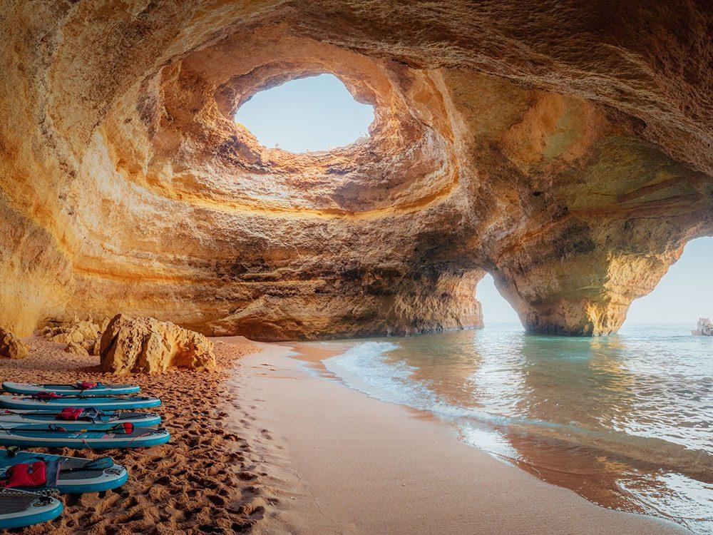 La grotte de Benagil.