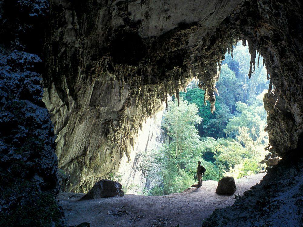 La grotte de Temimina.