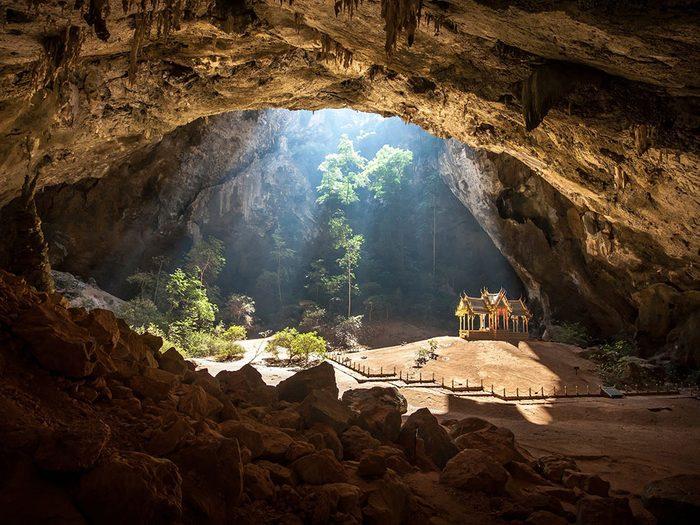 La grotte de Phraya Nakhon.