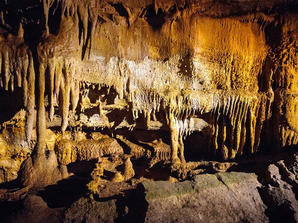 La grotte du mammouth.