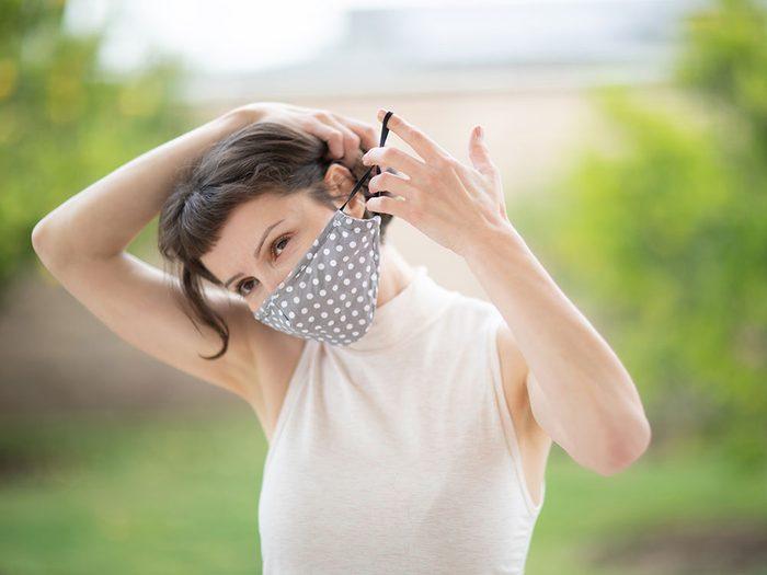 Comment désinfecter votre masque de protection?