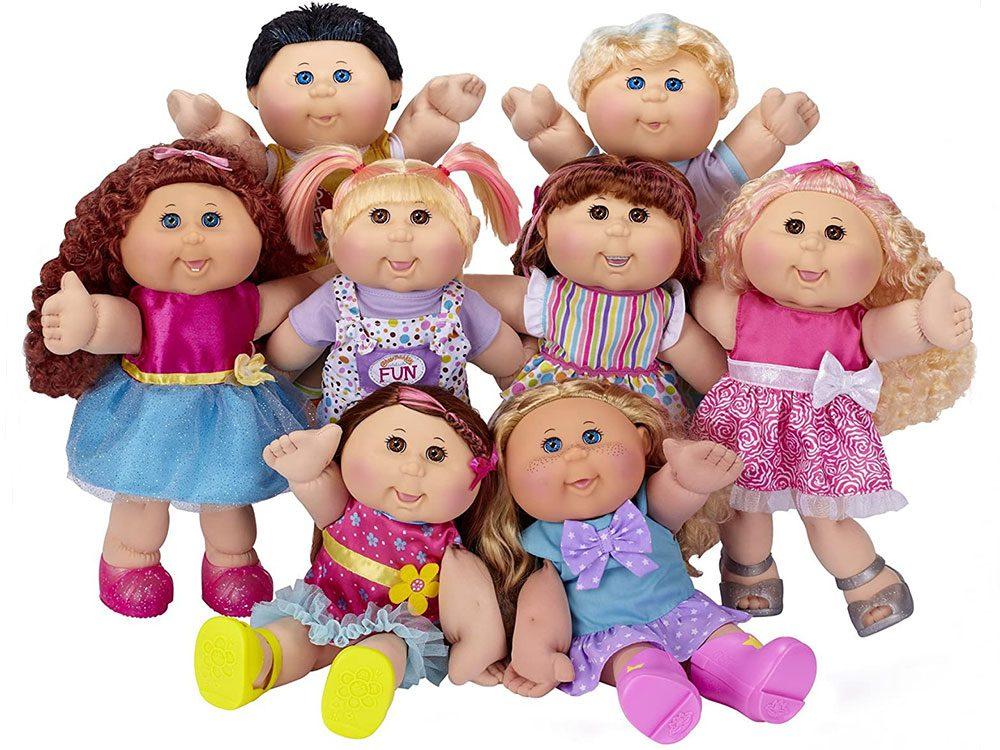 Les extraordinaires poupées Patouf sont des objets vintages.