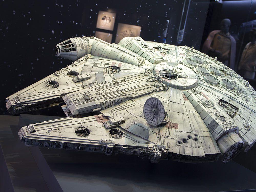 Les jouets Star Wars sont des objets vintages.