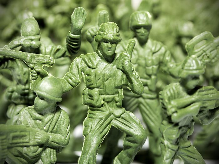 Certaines figurines sont des objets vintages.