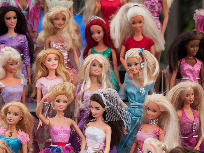 Les Barbies de collection sont des objets vintages.