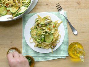 Linguinis végétariens
