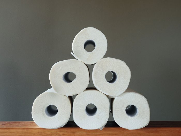 Les rouleaux de papier sont réutilisables.