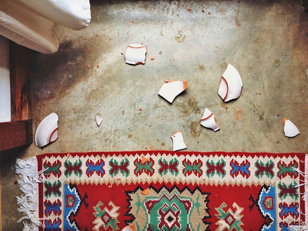 Les plats cassés sont réutilisables.