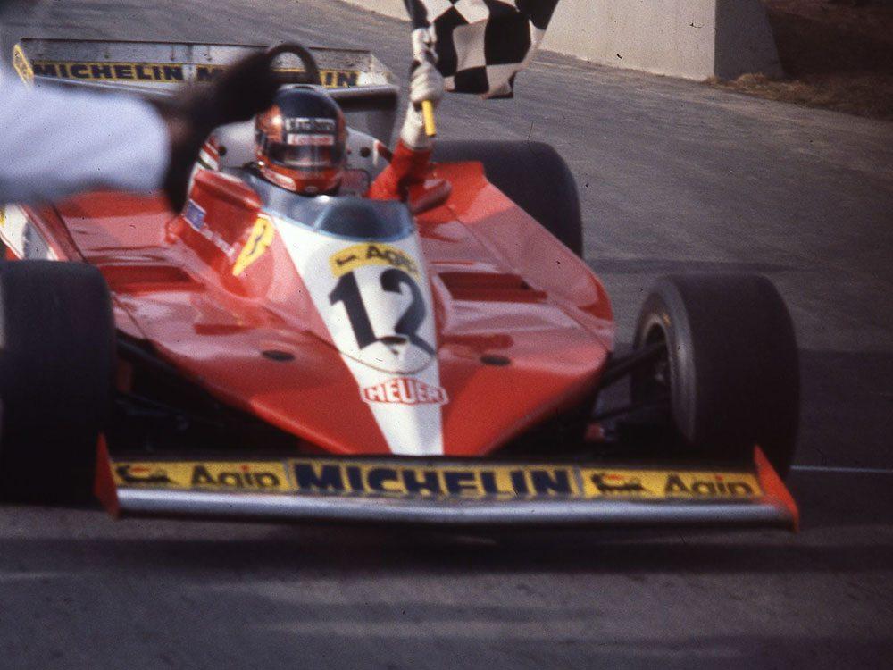 Québec d'autrefois: la victoire de Gilles Villeneuve, 8 octobre 1978.