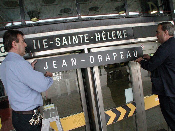 Québec d'autrefois: le changement de nom de l'Île-Sainte-Hélène, 16 mai 2001.