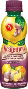 Voici le nouveau produit ReaLemon* Infusions de saveur - Ail.