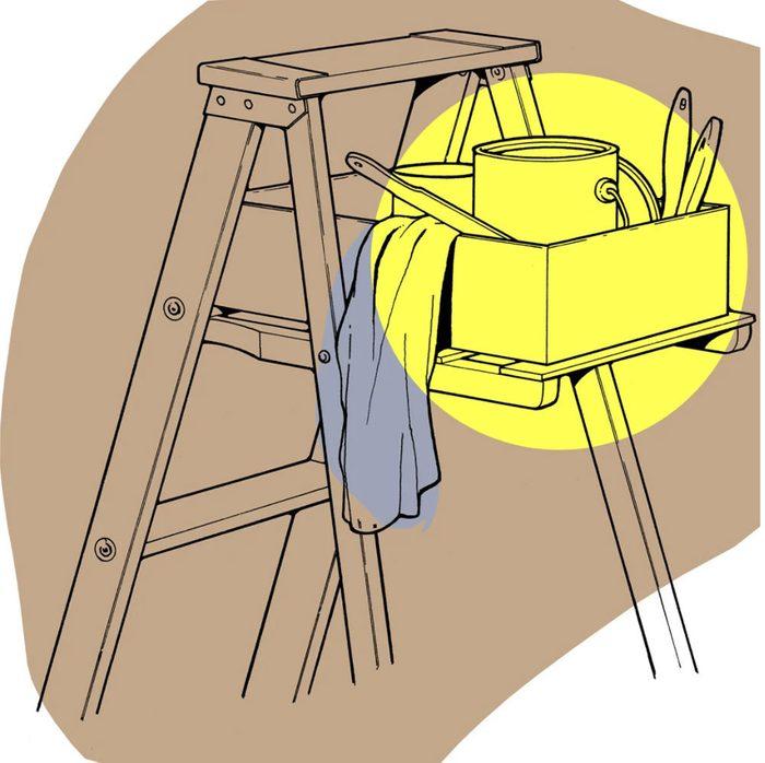 Astuces de bricolage: faire un coffret de peintre.