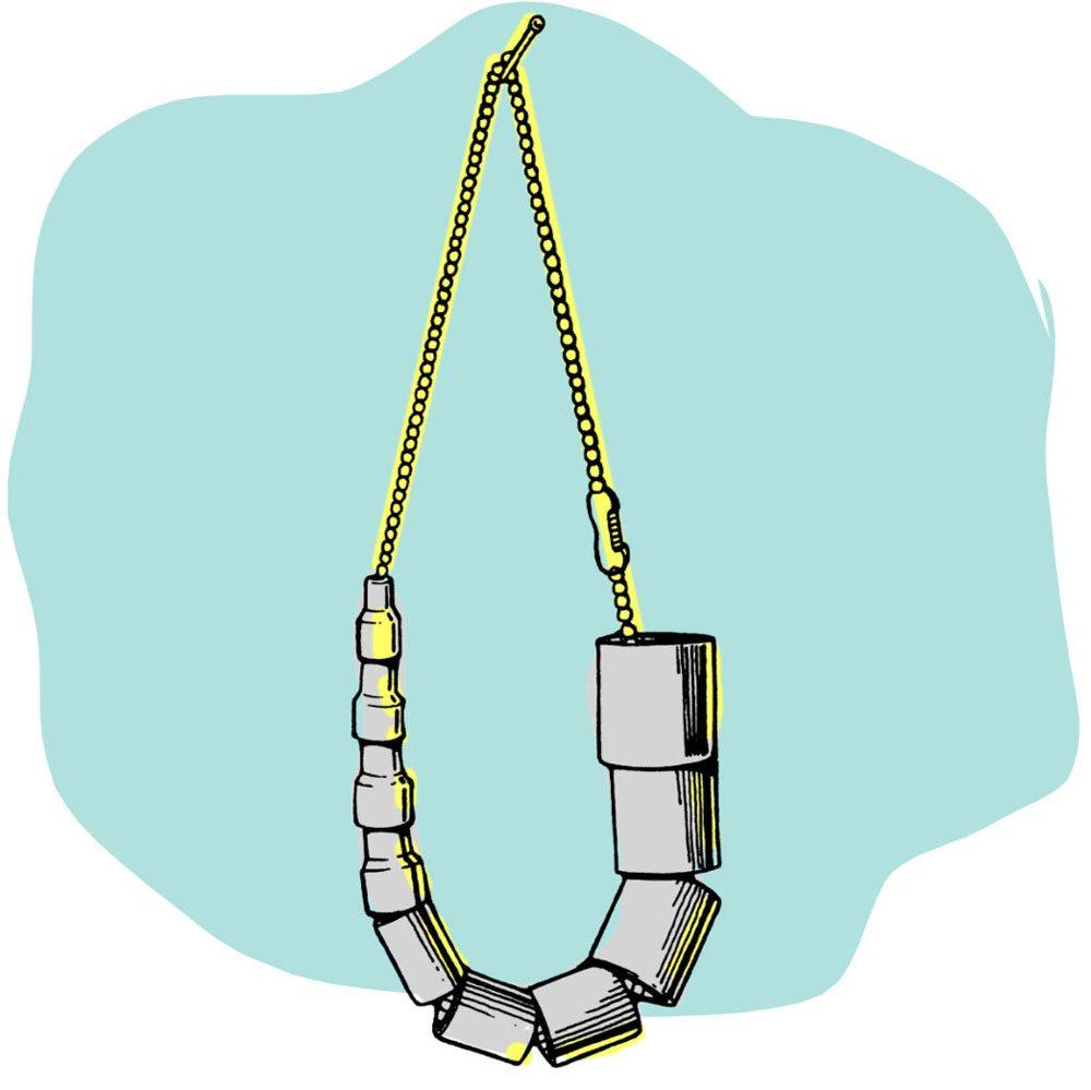 Astuces de bricolage: une chaîne pour clés à douilles.