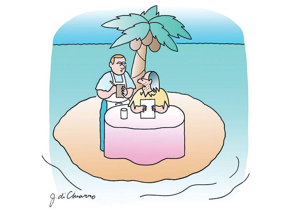 Caricatures: «Je vais me laisser tenter par… le poisson.»