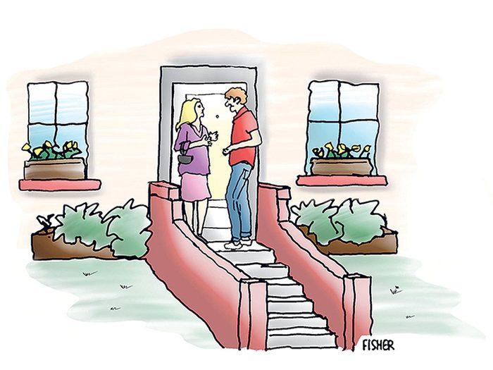 Caricatures: motif de rupture.