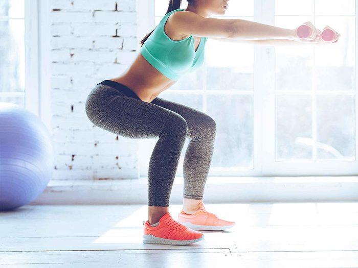 L'exercice peut aider à réduire la cellulite.