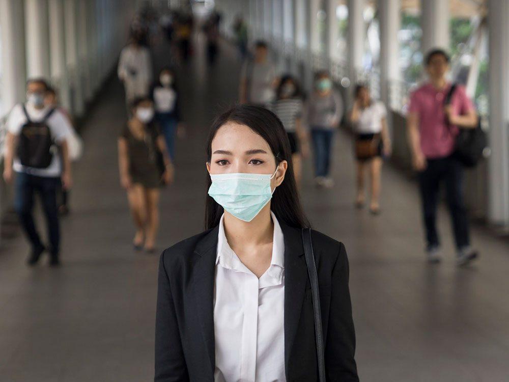 Les 6 endroits où vous êtes le plus à risque de contracter le coronavirus.