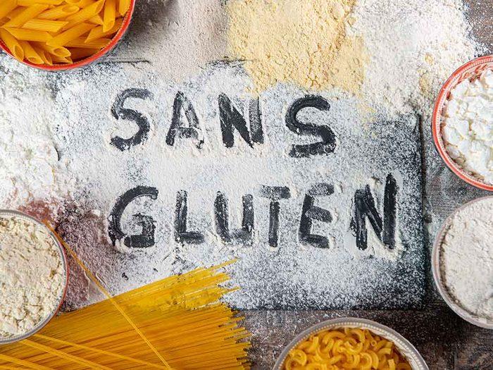 Vous supposez que le sans gluten noté sur l'étiquette des aliments est plus sain.