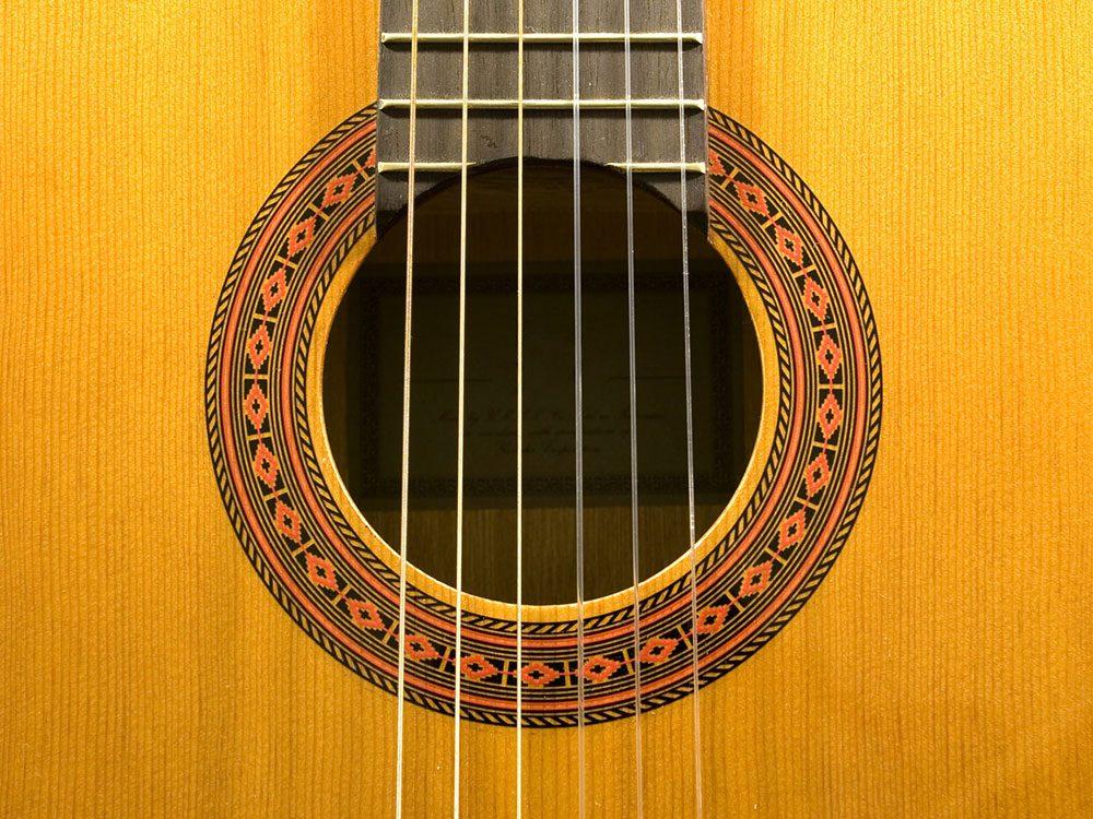 Les instruments de musique en bois des choses qu'on ne devrait jamais nettoyer avec de l'eau.