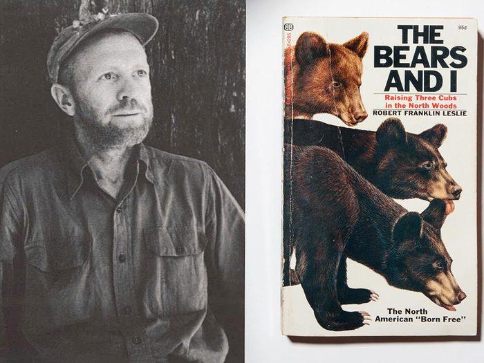 Le grand frère Bosco, l'ours noir.