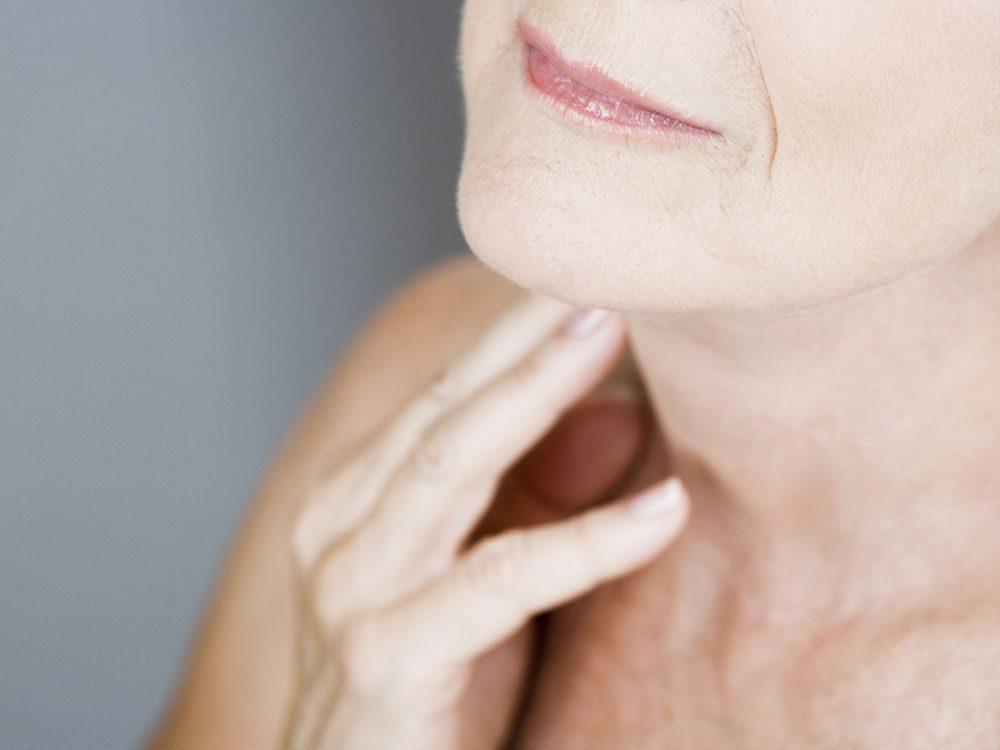 Parties du corps: l'origine du nom thyroïde.