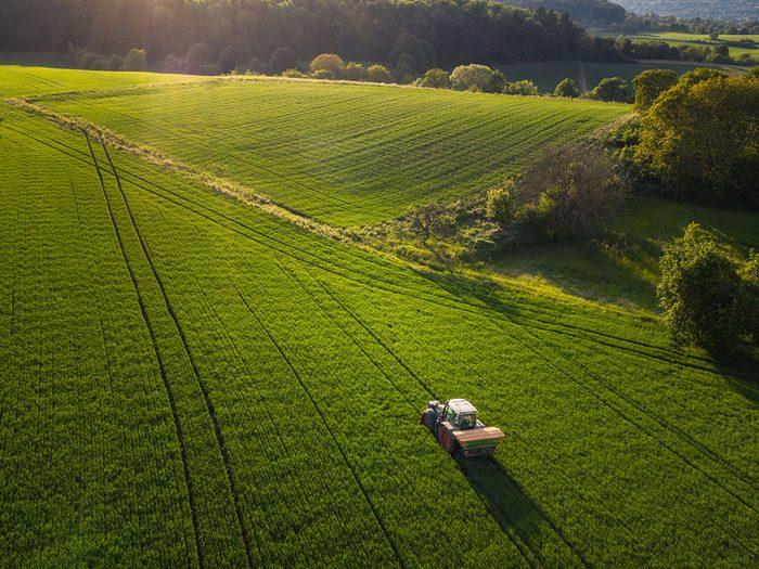 Photo aérienne de drone de l'Allemagne du Sud.