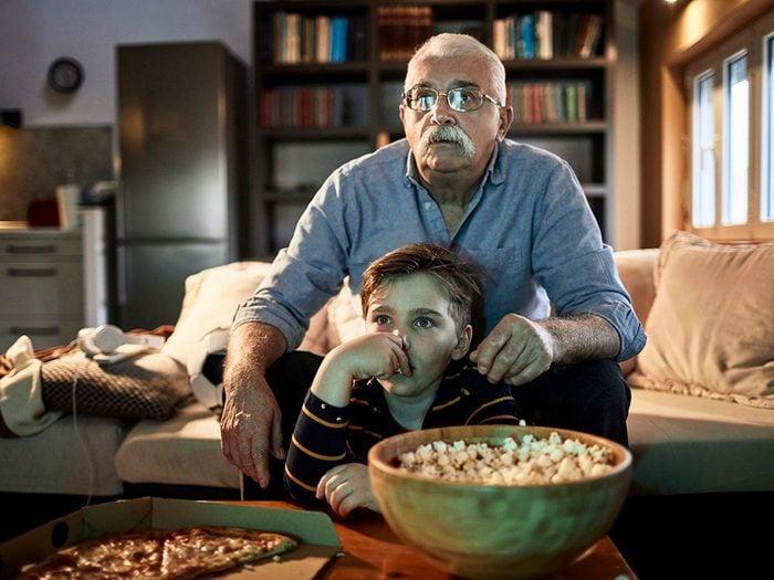 Regarder des classiques du cinéma quand on s'ennuie.
