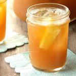 Thé glacé ananas et citron
