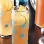 Thé au citron et aux amandes
