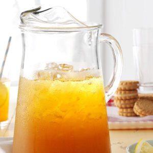 Thé glacé à la limonade