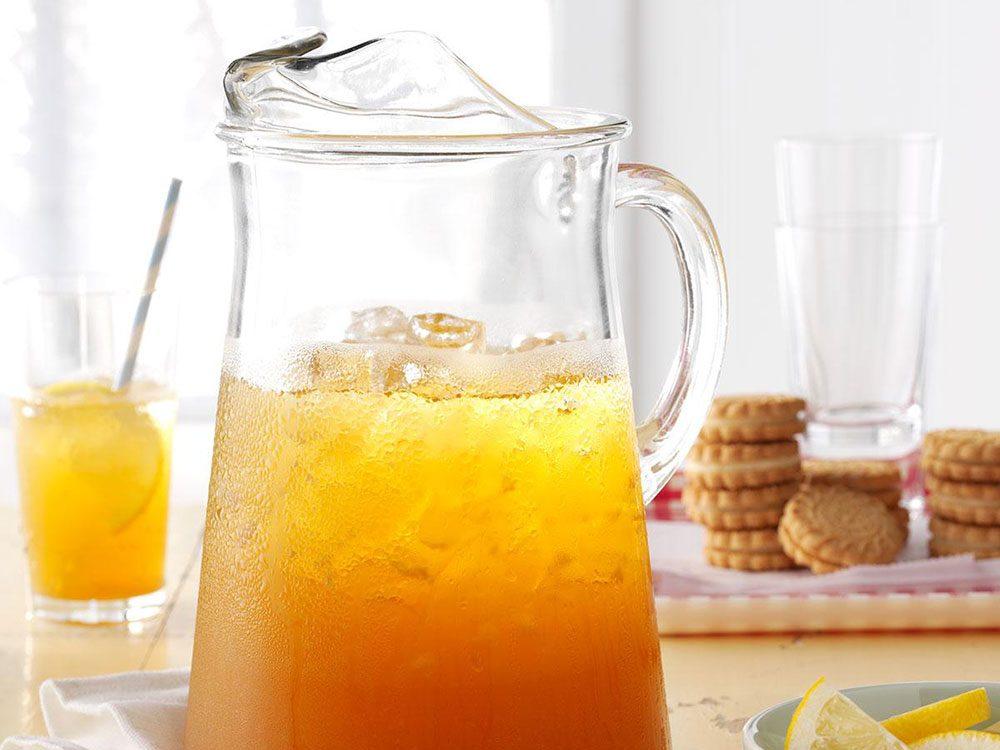 Thé glacé à la limonade.