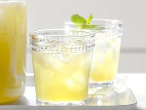 Thé à la menthe et au melon miel