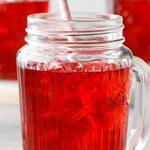 Thé glacé à l'hibiscus