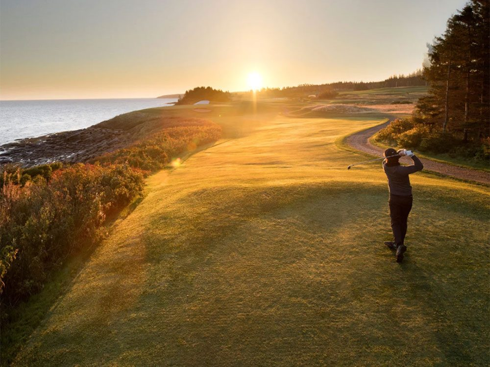 Le club Northumberland Links fait partie des terrains de golf à moins de 100$ au Québec et au Canada.