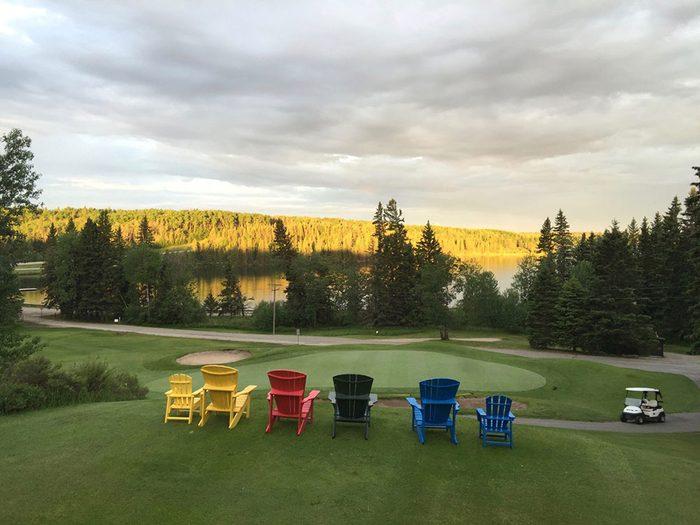 Le club Clear Lake fait partie des terrains de golf à moins de 100$ au Québec et au Canada.
