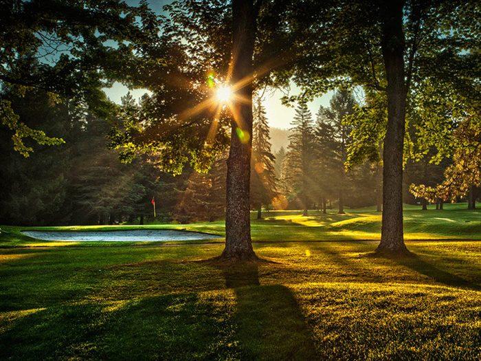 Le club Fraser Edmunston fait partie des terrains de golf à moins de 100$ au Québec et au Canada.