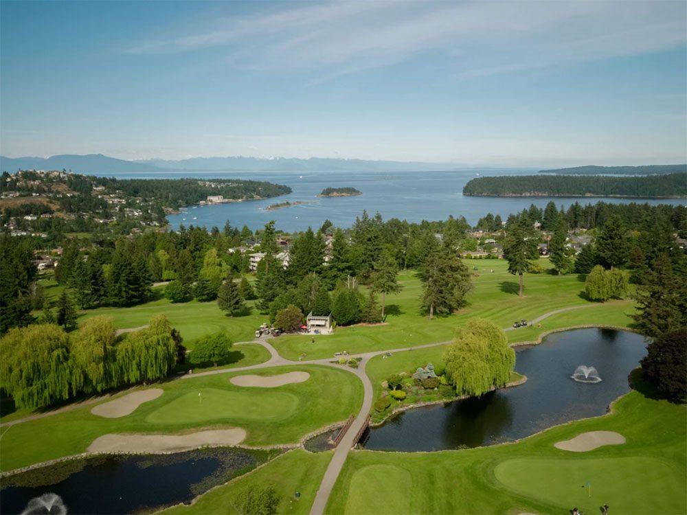 Le club Nanaimo fait partie des terrains de golf à moins de 100$ au Québec et au Canada.
