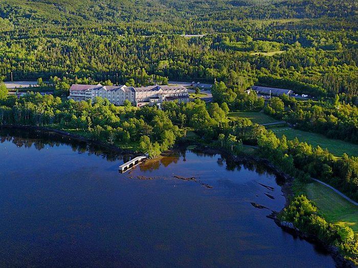 Le club Twin Rivers fait partie des terrains de golf à moins de 100$ au Québec et au Canada.