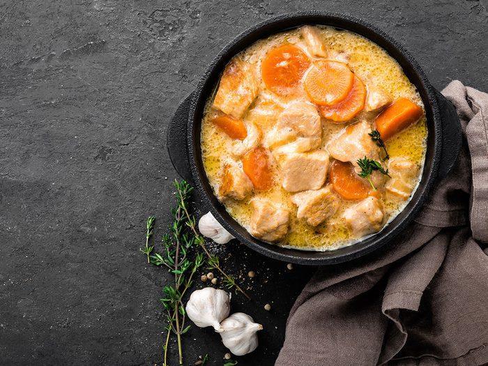 Le ragoût de dinde aux légumes fait partie des recettes à essayer pour l'Action de grâce.