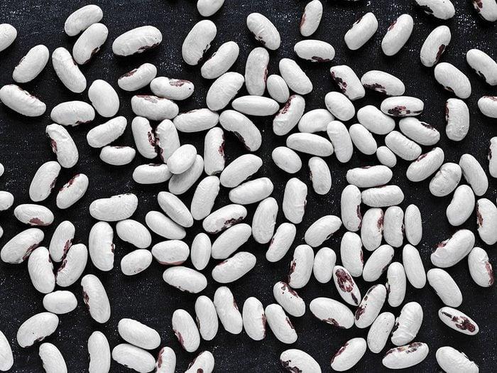 Les haricots et les légumineuses sont des aliments riches en fer.
