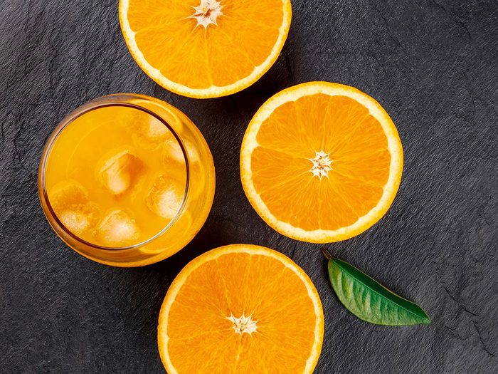 Mauvaise absorption des nutriments contenus dans les aliments riches en fer.