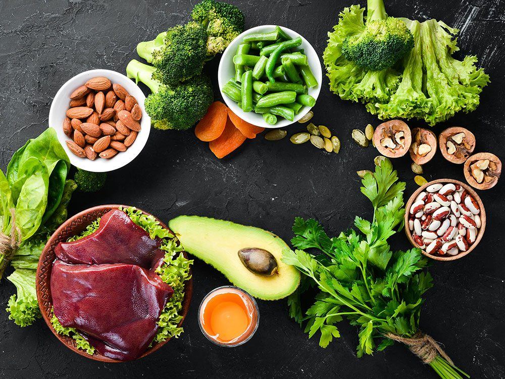 Des aliments riches en fer pour une santé de fer.