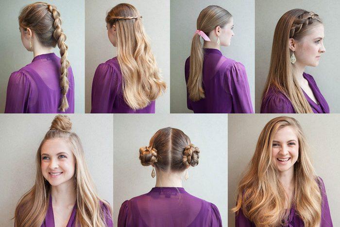 Essayez ces 7 coiffures faciles!