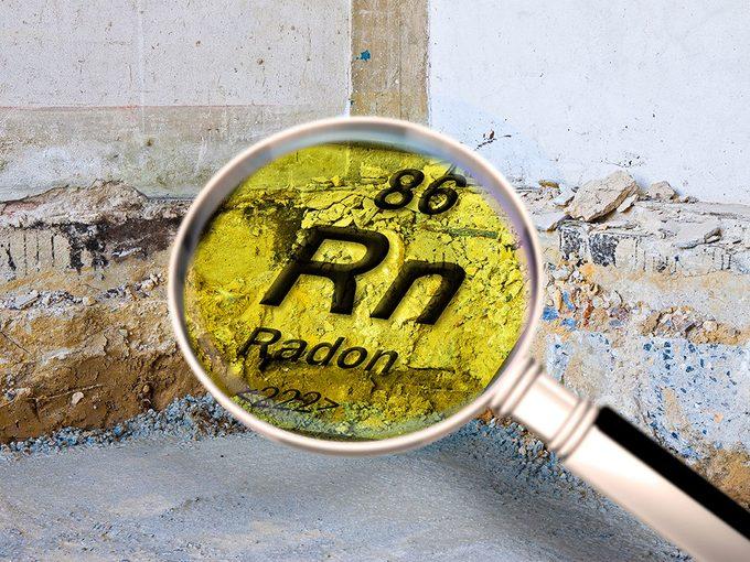 Qualité de l'air: bien mesurer le taux de radon, ce gaz cancérigène.