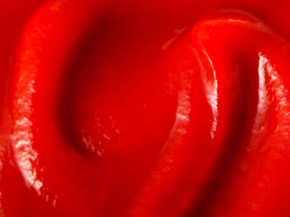 Le ketchup est à éviter pour lutter contre l'anxiété.