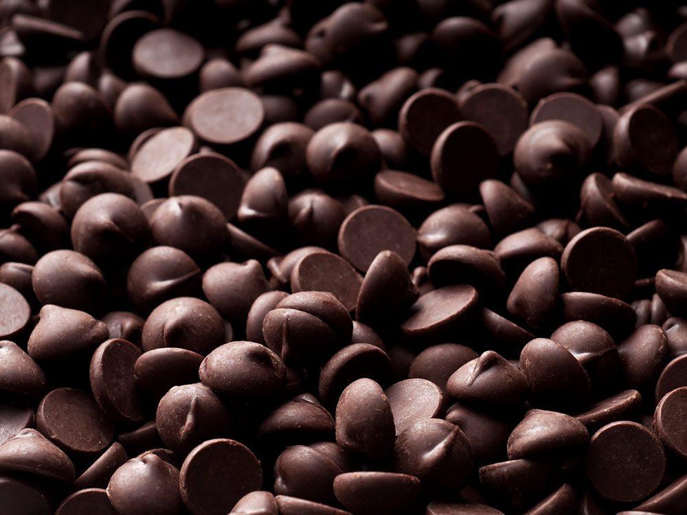 La chocolat est à éviter pour lutter contre l'anxiété.