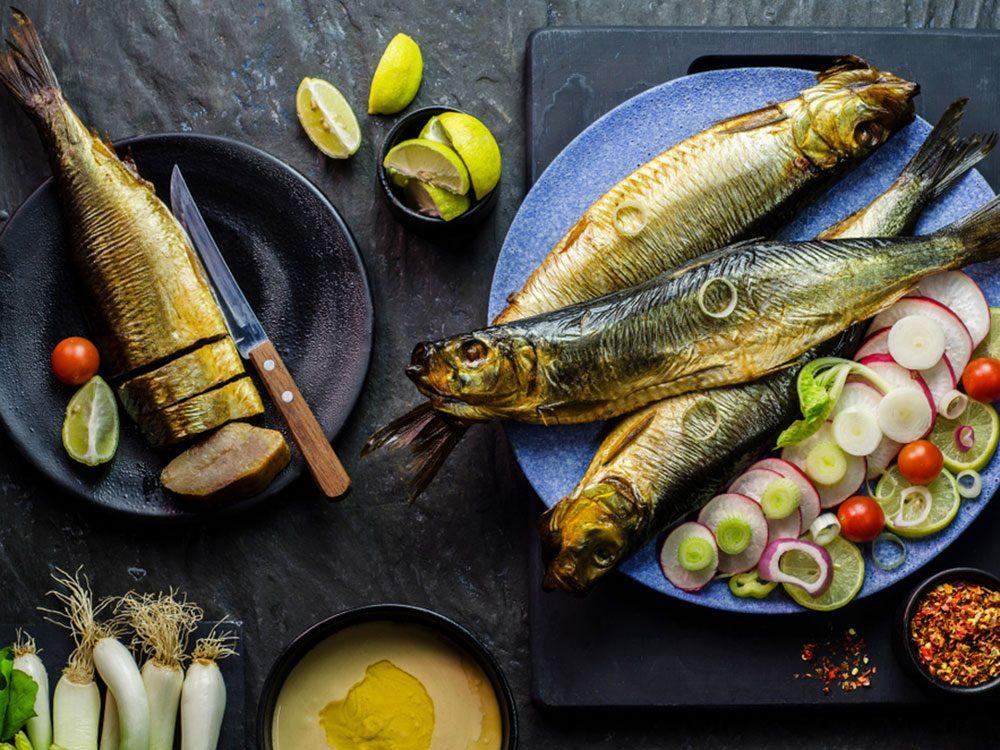 Le hareng est l'un des meilleurs poissons à manger
