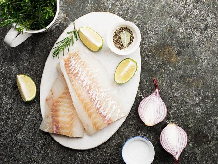 La morue du Pacifique est l'un des meilleurs poissons à manger
