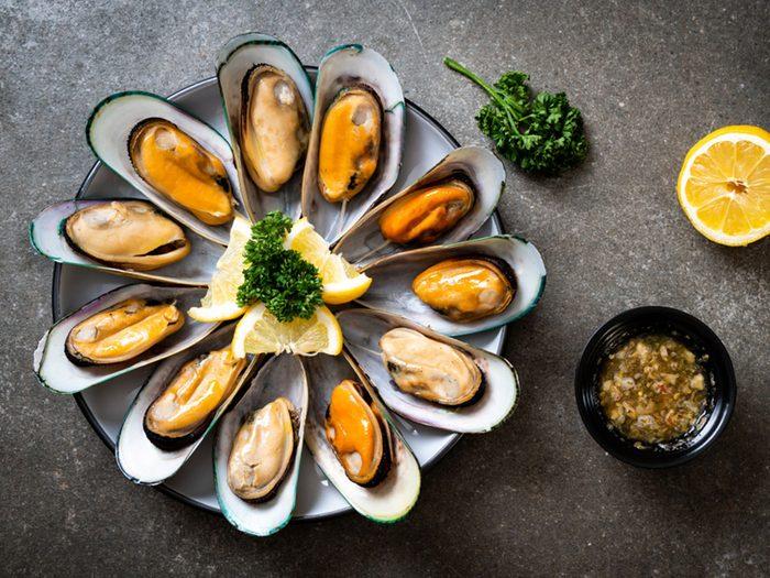 Les moules font partie des meilleurs poissons à manger